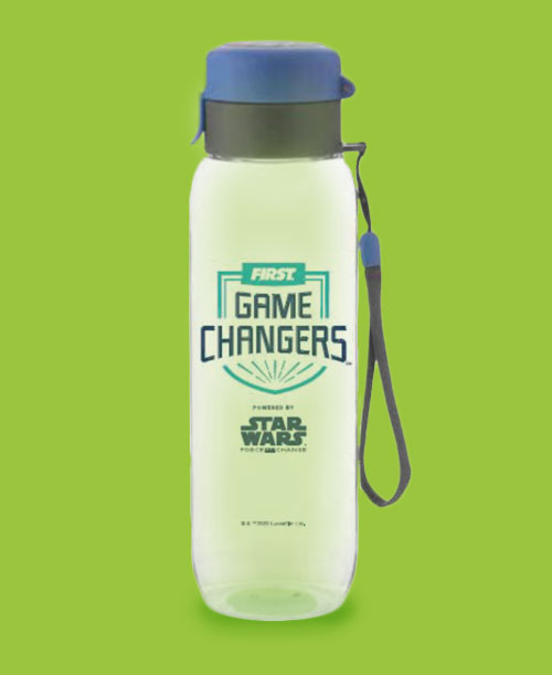 FIRST GAME CHANGERS WATER BOTTLE